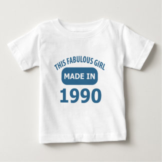 25th birthday designs infant t-shirt
