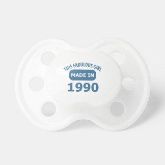 25th birthday designs pacifier
