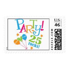 25th Birthday Gift Ideas Postage