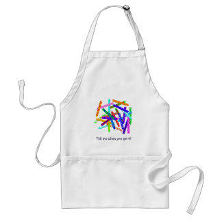 25th Birthday Gifts Adult Apron