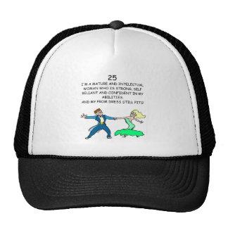 25th birthday trucker hat