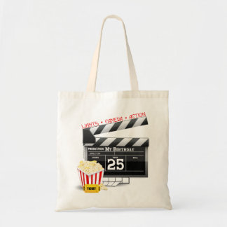 25th Birthday Hollywood Movie Party Tote Bag