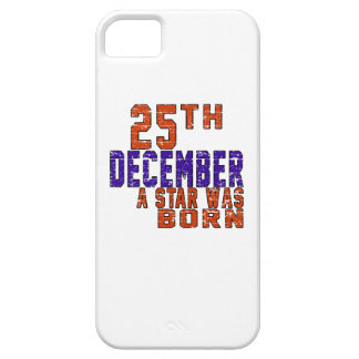 25th December a star was born iPhone 5 Case