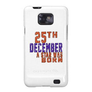 25th December a star was born Galaxy S2 Cases