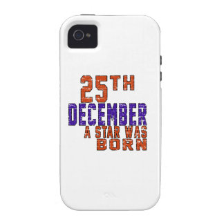 25th December a star was born iPhone 4/4S Case