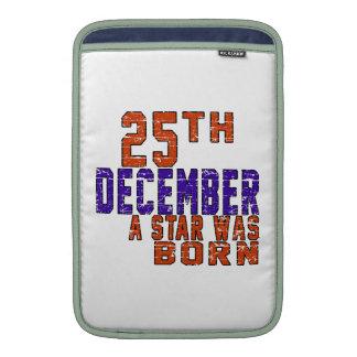 25th December a star was born MacBook Air Sleeves