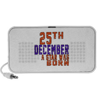 25th December a star was born Notebook Speakers