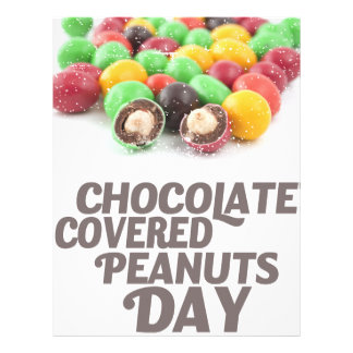25th February - Chocolate-Covered Peanuts Day Letterhead