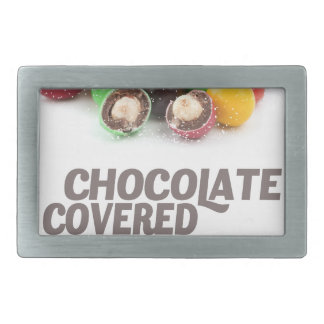 25th February - Chocolate-Covered Peanuts Day Rectangular Belt Buckle