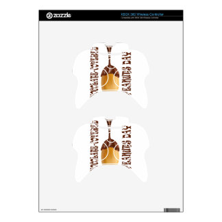 25th February - Chocolate-Covered Peanuts Day Xbox 360 Controller Skin
