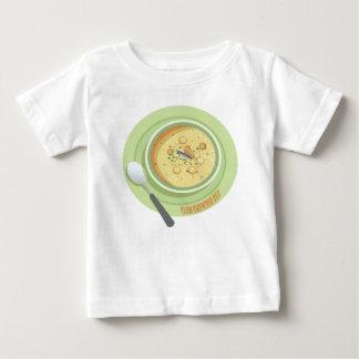 25th February Clam Chowder Day - Appreciation Day Baby T-Shirt