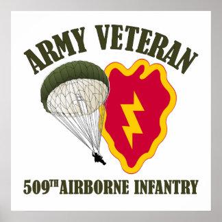 25th ID, 509th PIR Veteran Poster