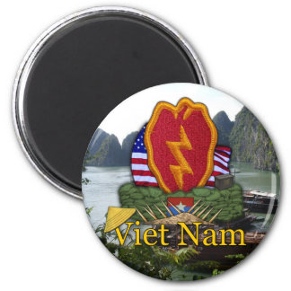 25th ID Infantry division vietnam war vets Magnet