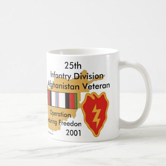25th Inf Div Afgan Vet Coffee Mug