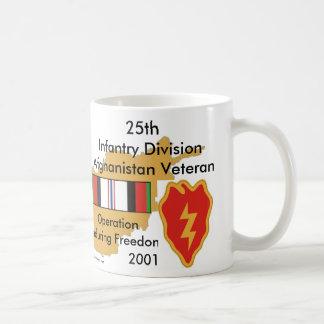25th Inf Div Afgan Vet Classic White Coffee Mug