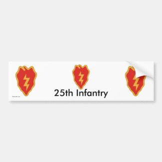 25th Inf Div bs/1 Car Bumper Sticker