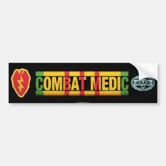 25th Inf. Div. Vietnam COMBAT MEDIC Sticker Car Bumper Sticker