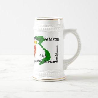 25th Inf Div Vietnam Vet wbs/1 Beer Stein