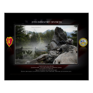 25th Infanrty Division Print