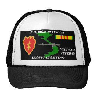 """25th Infantrry Division""""Tropical Lighting""""Ball Cap Trucker Hat"""