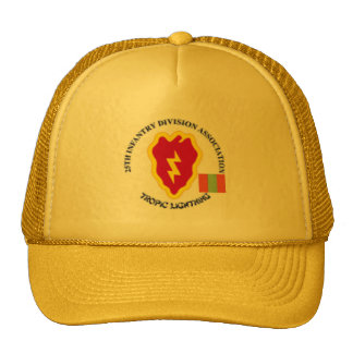 25th Infantry 4th Infantry Regiment Trucker Hat