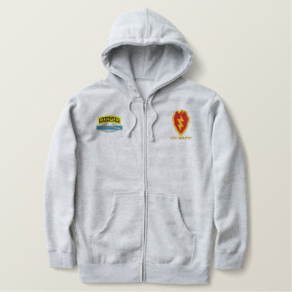 25th Infantry CIB Ranger Embroidered Hoodie
