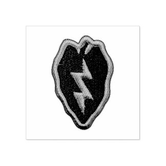 25th infantry division 25th ID veterans vets Patch Rubber Stamp