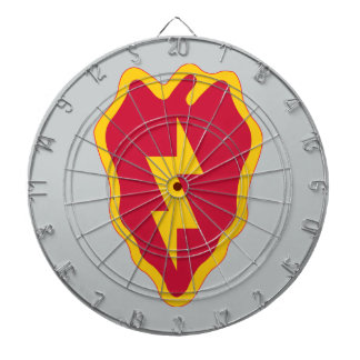25th Infantry Division Dart Board