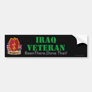 25th infantry division iraq vets bumper stickers