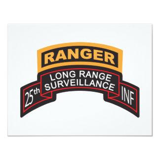 25th Infantry Division LRS Scroll, Ranger Tab Card