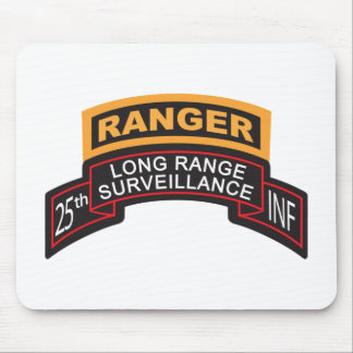 25th Infantry Division LRS Scroll, Ranger Tab Mouse Pad