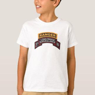 25th Infantry Division LRS Scroll, Ranger Tab T-Shirt