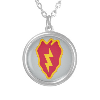 25th Infantry Division Personalized Necklace