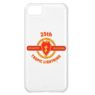 """25TH INFANTRY DIVISION """"TROPIC LIGHTNING"""" iPhone 5C COVERS"""