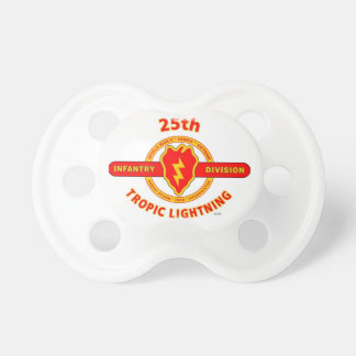 "25TH INFANTRY  DIVISION  ""TROPIC LIGHTNING"" PACIFIER"
