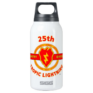"""25TH INFANTRY  DIVISION  """"TROPIC LIGHTNING"""" THERMOS WATER BOTTLE"""