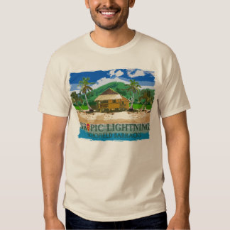 25th Infantry Division Tropical Lightning Hawaii Tee Shirt