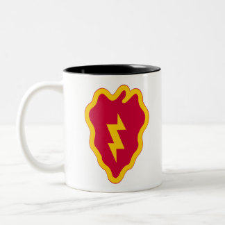 25th Infantry Division Two-Tone Coffee Mug