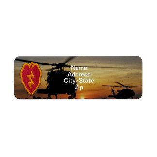 25th infantry division veterans vets lrrps patch label