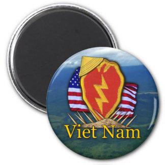 25th infantry division vietnam nam patch Magnet