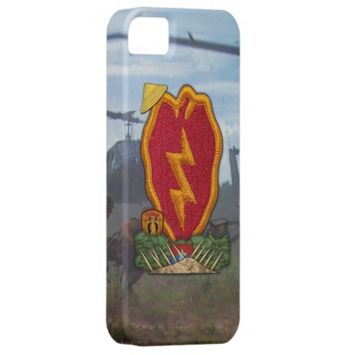 25th Infantry Division Vietnam Nam War iPhone 5 Covers
