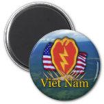 25th infantry division vietnam patch Magnet Refrigerator Magnet