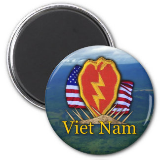 25th infantry division vietnam patch Magnet Refrigerator Magnet