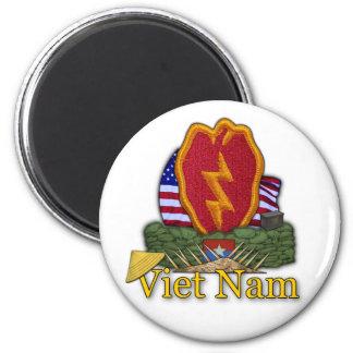 25th infantry division vietnam vc rvn vets Magnet