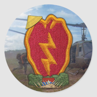 25th infantry division vietnam war patch Stickers