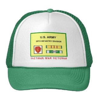 25TH INFANTRY DIVISION VIETNAM WAR VET HAT