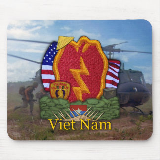 25th infantry division vietnam war vets Mousepad