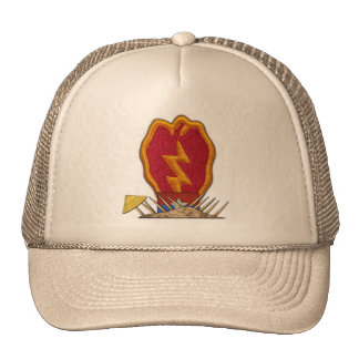 25th infantry division vietnam war vets patch Hat