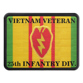25th Infantry Division VSM Ribbon Hitch Cover