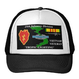 """25th Infantry Divison"""" Tropical Ligthing"""" Ball Cap Trucker Hat"""